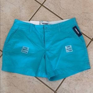 Old navy blue 5inch shorts new with tags